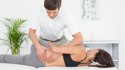 Tu sesión de fisioterapia profesional a mitad de precio
