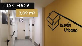 Alquiler de trastero con opción a compra-Trastero 6 (3,09 m²)