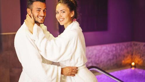 Romántico spa en pareja para San Valentín
