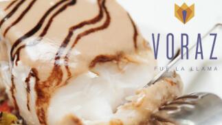 Voraz fue la llama, menú para dos de buena cocina