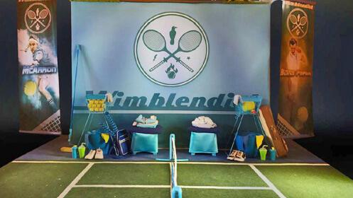 'Wimblendiot' Tennis clown show en el Teatro Cervantes