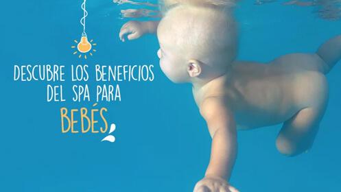 Una experiencia única con vuestro bebé: Splash Baby Spa
