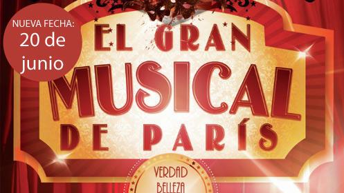 'El Gran Musical de París' - Moulin Rouge tributo