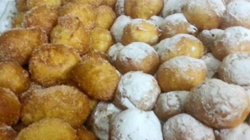 ¡Época de buñuelos! 1/2 kilo de trufa, crema o nata 9,90€
