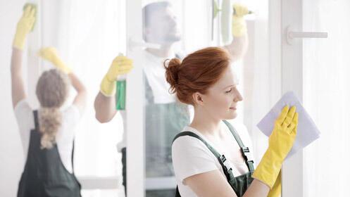 Limpieza de cristales profesional: 3 horas por 27€