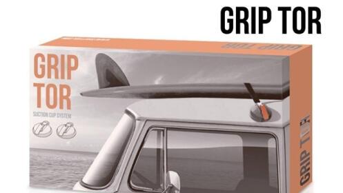 Pack 2 ventosas para techo coche Grip Tor