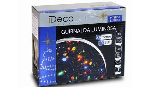 Guirnalda 120 Led Multicolor