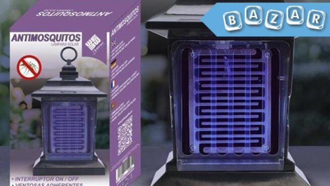 Lámpara solar antimosquitos