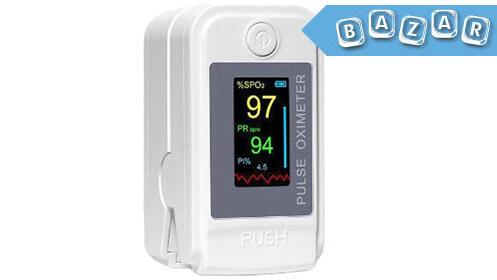 Sensor oxímetro digital de pulso de dedo