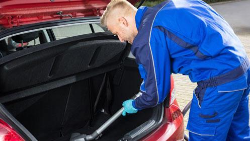 Desinfección de coche con ozono a domicilio