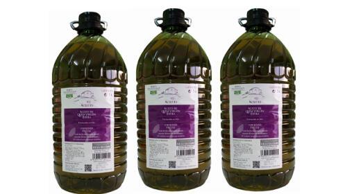 Caja de 3 botellas de 5L de Aceite de Oliva Virgen Extra