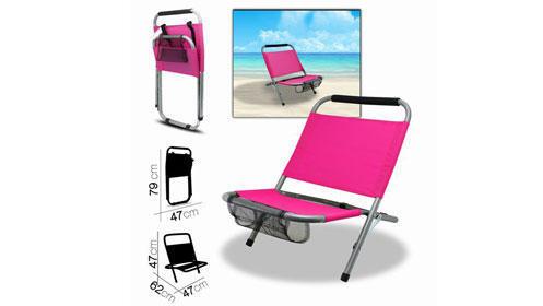 Silla de playa para disfrutar este verano