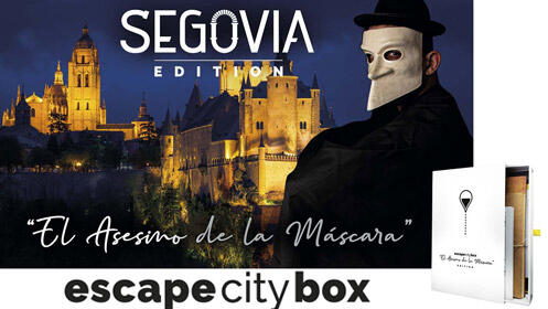 Escape City Box por Segovia 'El asesino de la máscara'