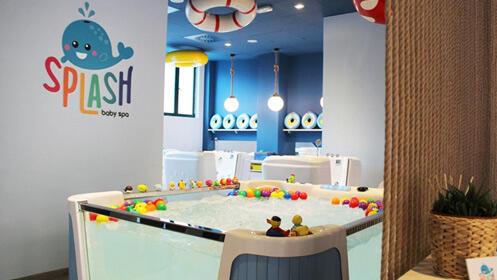 Splash Baby Spa con masaje ¡un spa para bebés único!