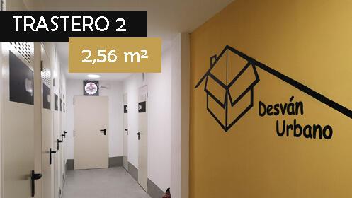 Alquiler de trastero con opción a compra-Trastero 2 (2,56 m²)