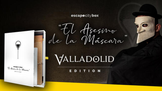 Escape City Box por Valladolid 'El asesino de la máscara'